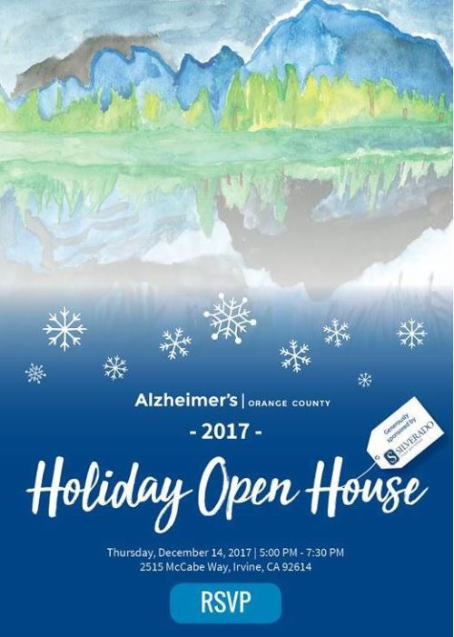 Alzheimer's Holiday Open House