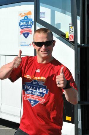 Nebraska Officer Runs Across America to the World Games in LA