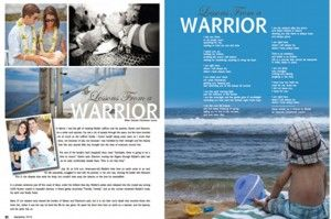 """""""Lessons From a Warrior"""""""