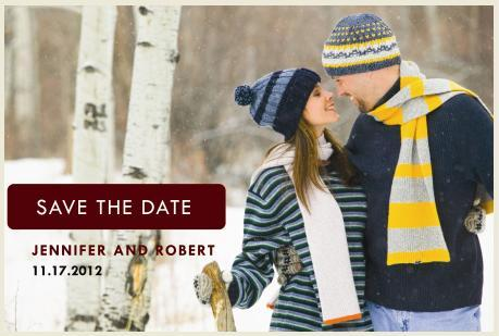 Save-the-date-postcard wedding postcard