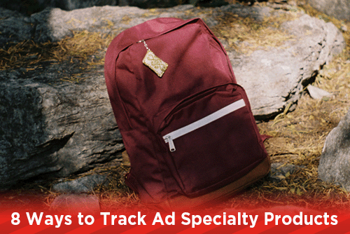 8 Ways to Track Ad Specialty Products