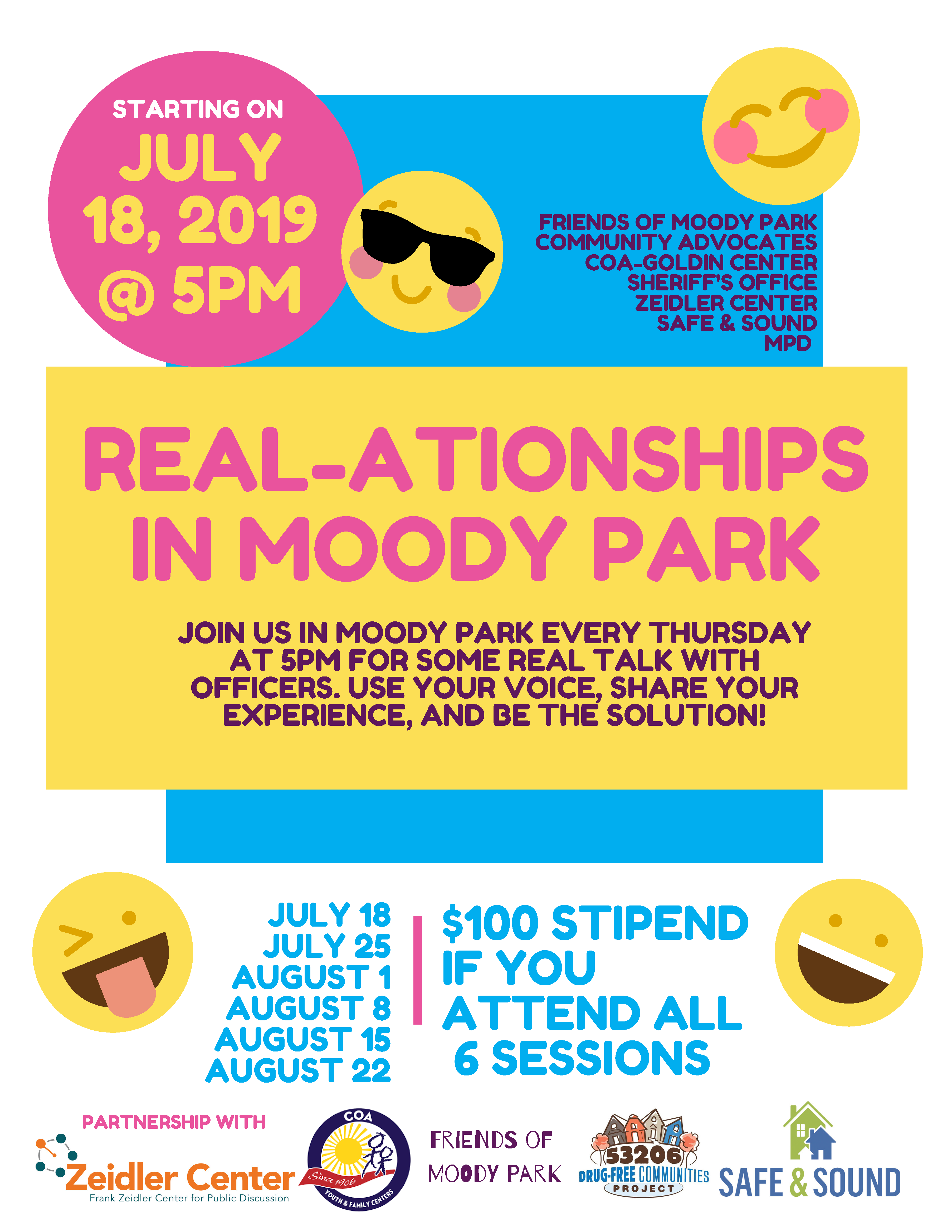 Spotlight On: Real-ationships in Moody Park