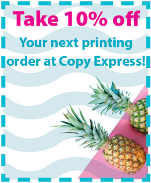 10% off your next printing order