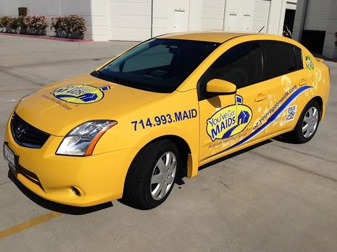 Franchise vehicle wraps Orange County