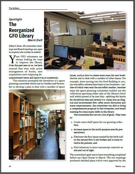 The Reorganized Library