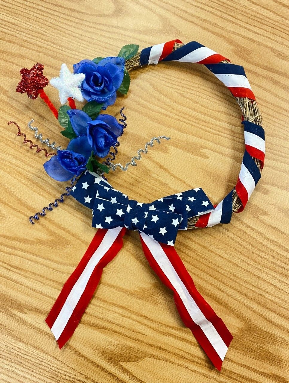 Fourth of July Wreath (for ADULTS)