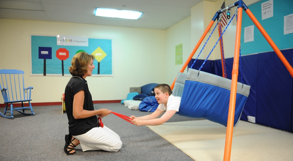IEA offers on-site occupational therapy and a sensory room.