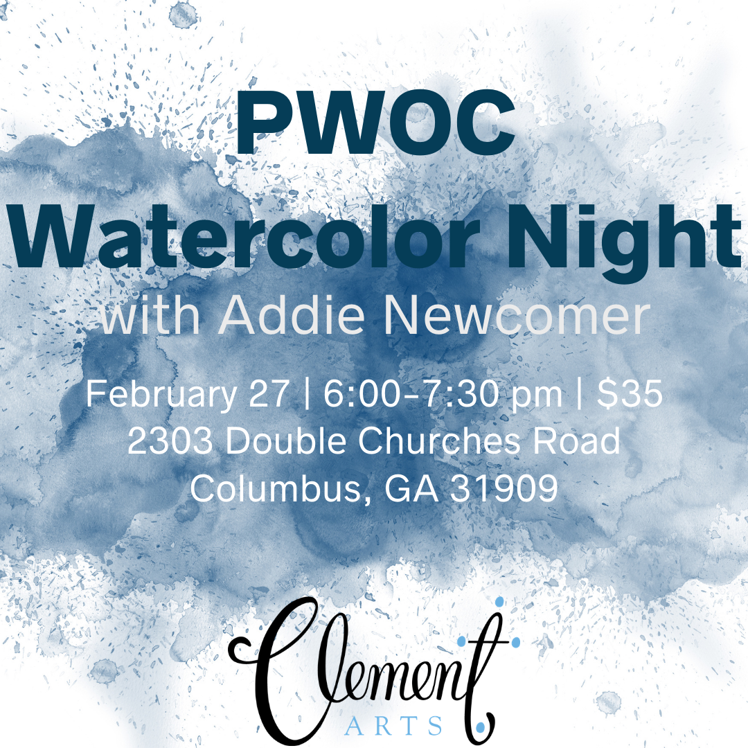 PWOC Watercolor Night