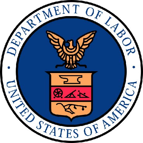 U30240 - Department of Labor Seal Carved 2.5-D Wall Plaque