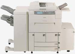 Four Canon IR600 Networked Copiers with Drill and Booklet Makers