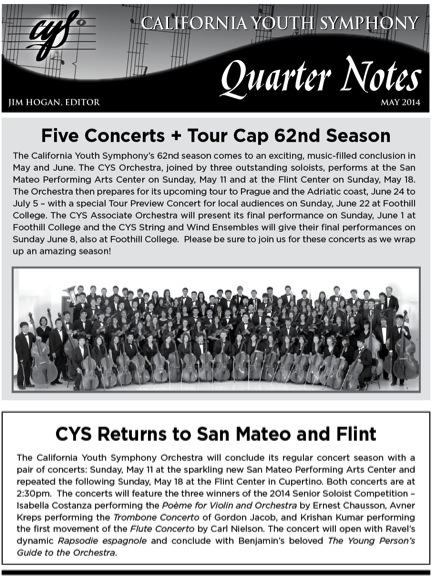 May 2014 Quarter Notes