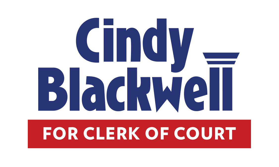Cindy Blackwell for Clerk of Court