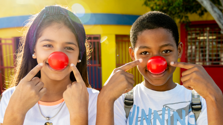 Celebrate Red Nose Day, May 21