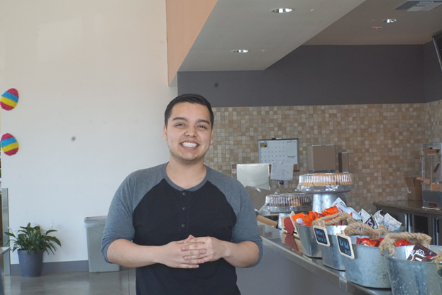Five Questions: An Interview with Charles Rodriguez, Café Manager