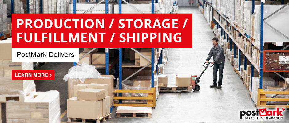 Production / Storage / Fulfillment / Shipping