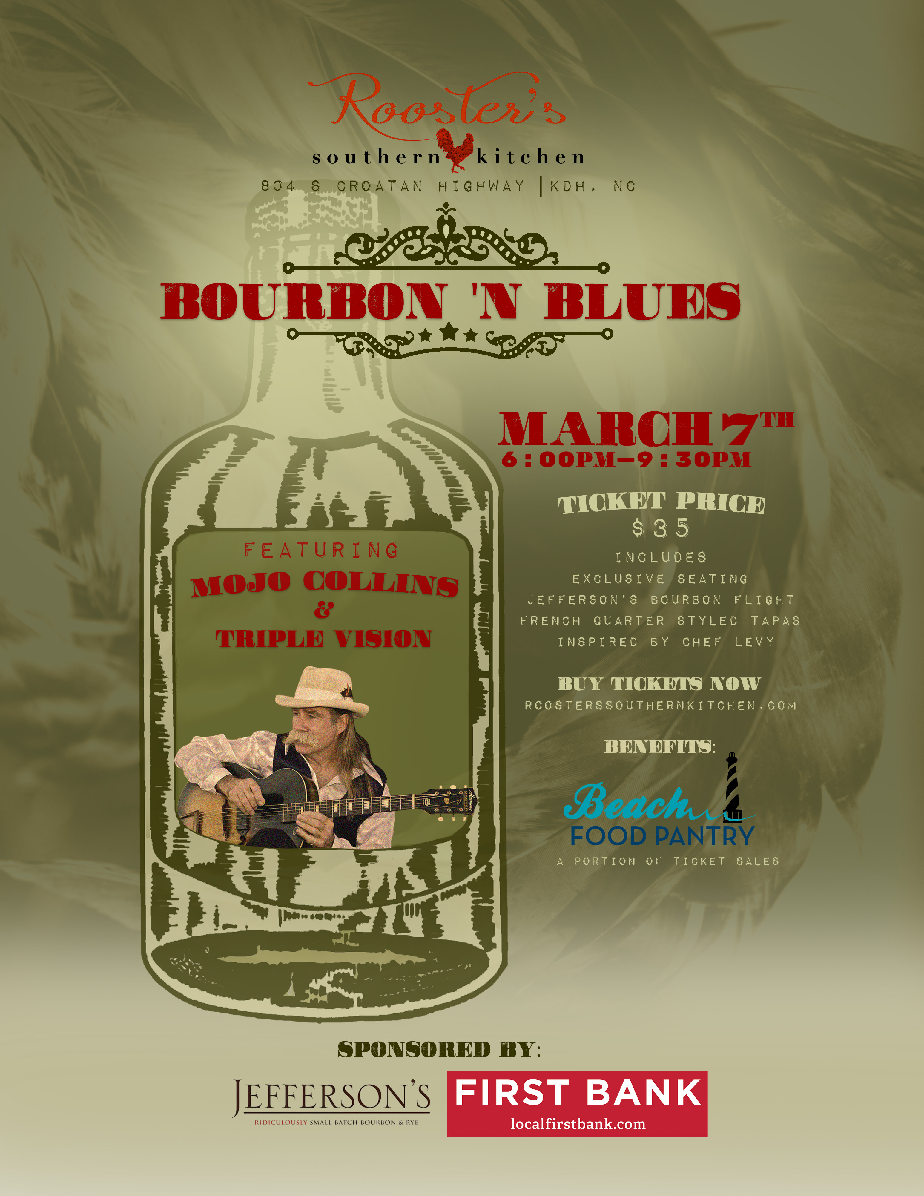 Bourbon N' Blues featuring Mojo Collins & Triple Vision