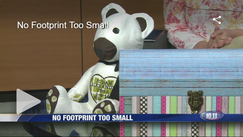 1011 KOLN interviews founder of No Footprint To Small