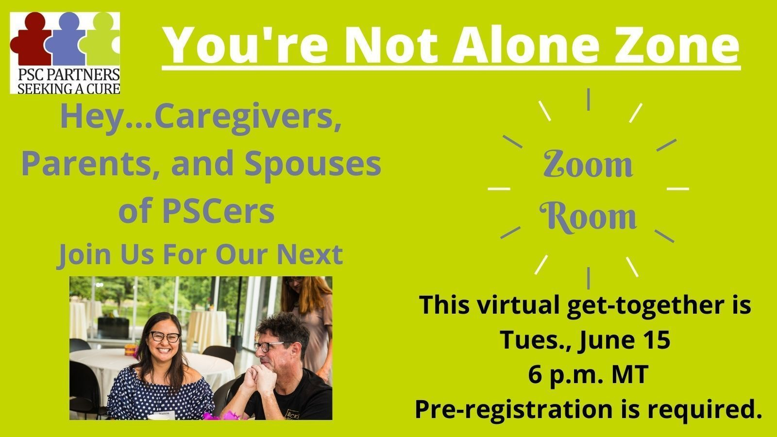 ZoomRoom for Caregivers/Spouses/Parents
