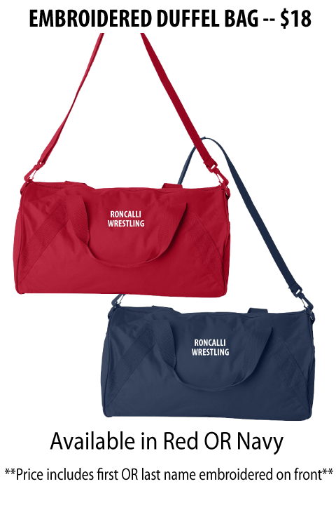 Roncalli Wrestling - Embroidered Duffel Bag