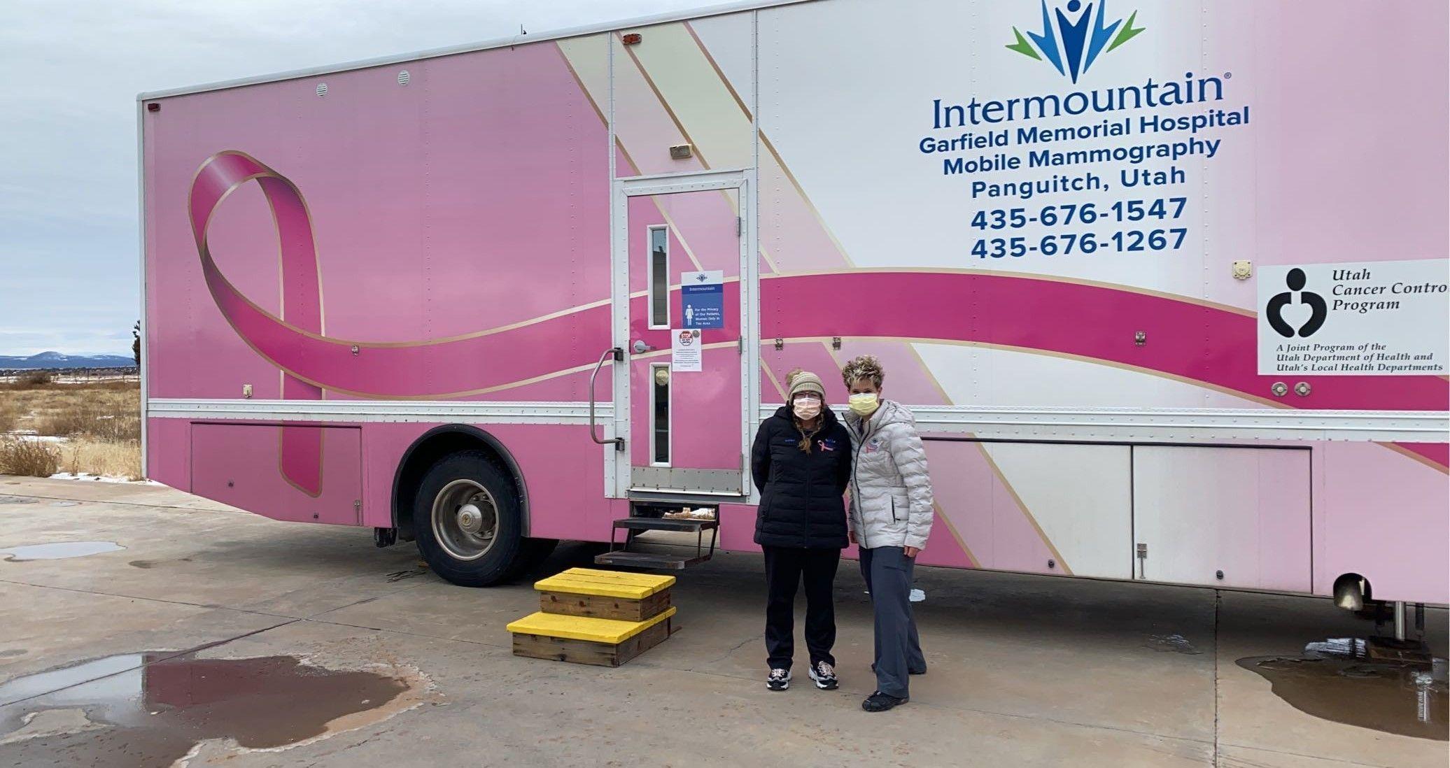 2021 Intermountain / Creek Valley Mammogram Bus