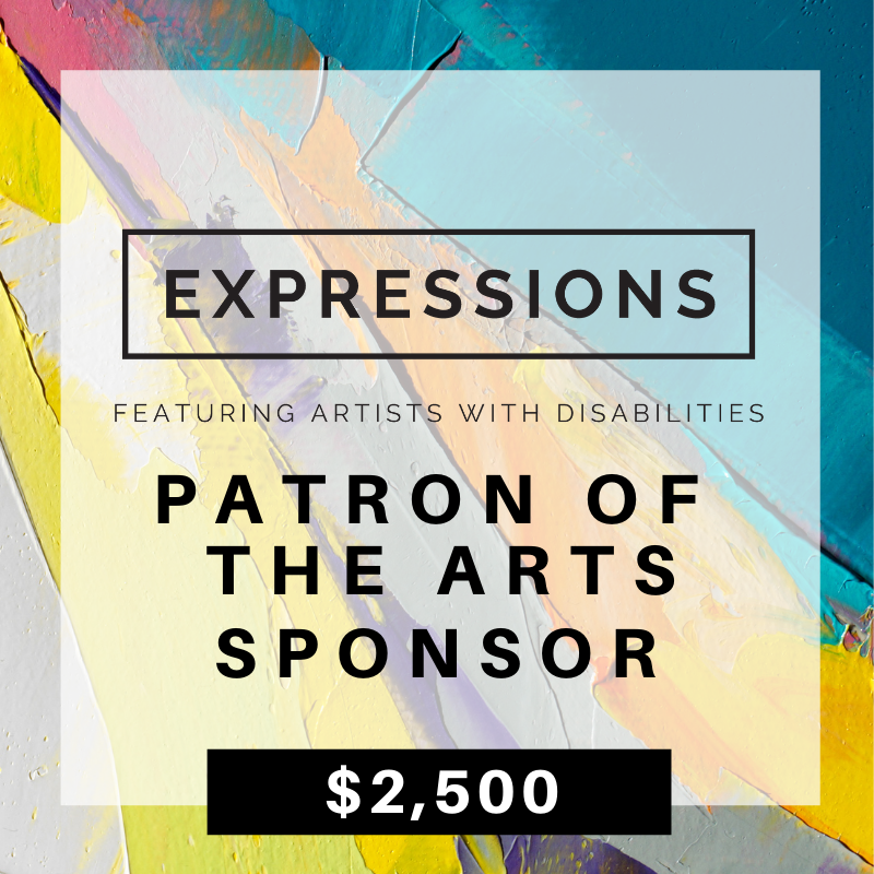 1. Patron of the Arts- $2,500