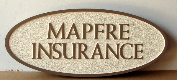C12505 - Sandblasted HDU Insurance Broker Sign