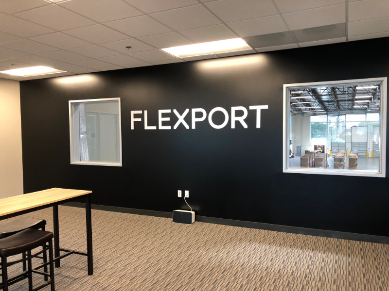 Custom Office Wall Lettering in Compton CA