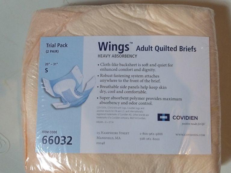 Wings Adult Brief S