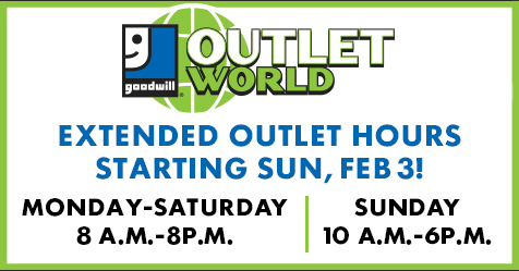 New Extended hours at Outlet World