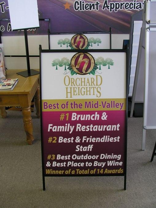 Orchard Heights Sign