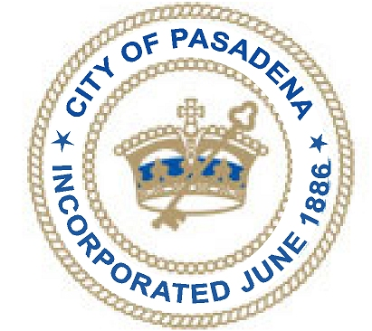 X33128 - Seal of Pasadena, California