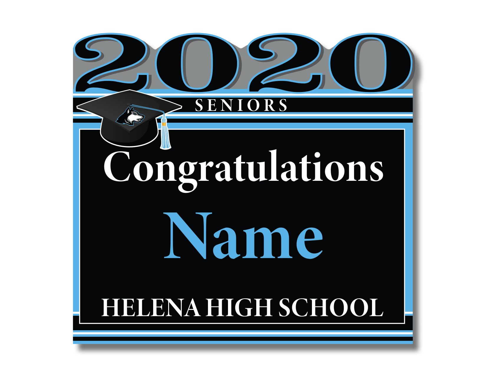 Helena Senior 2020 Yard Sign