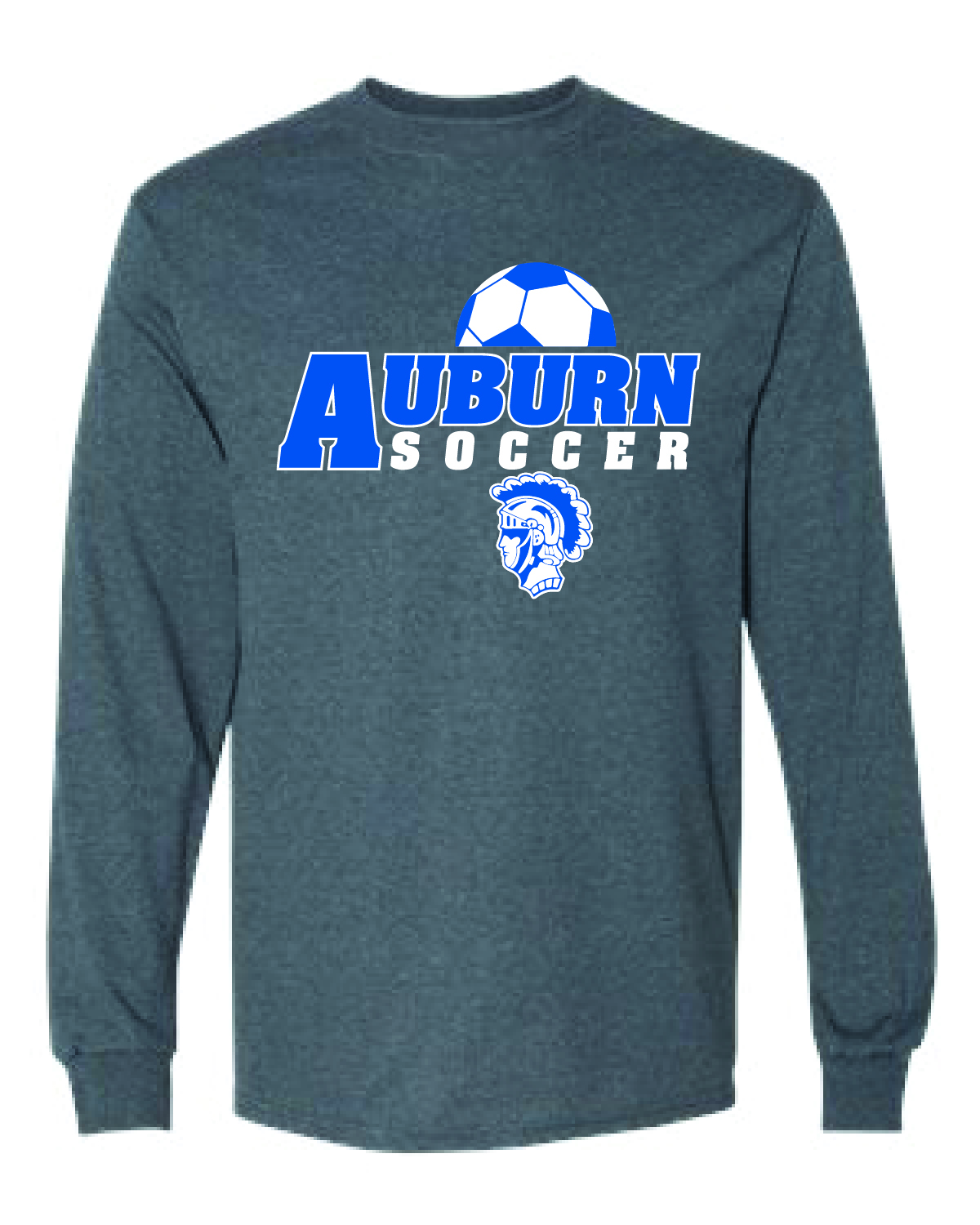 AUBURN SOCCER Short Long Sleeve Tee