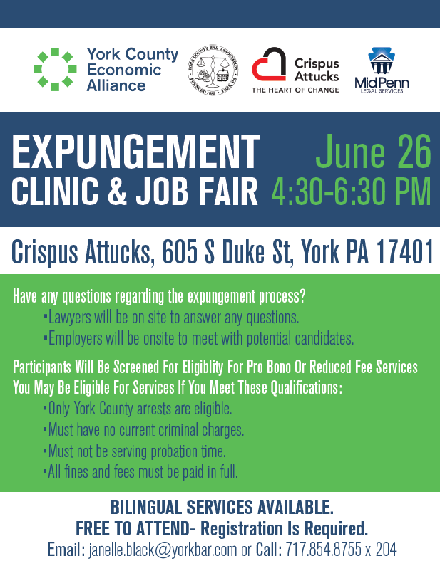 Expungement Clinic & Job Fair