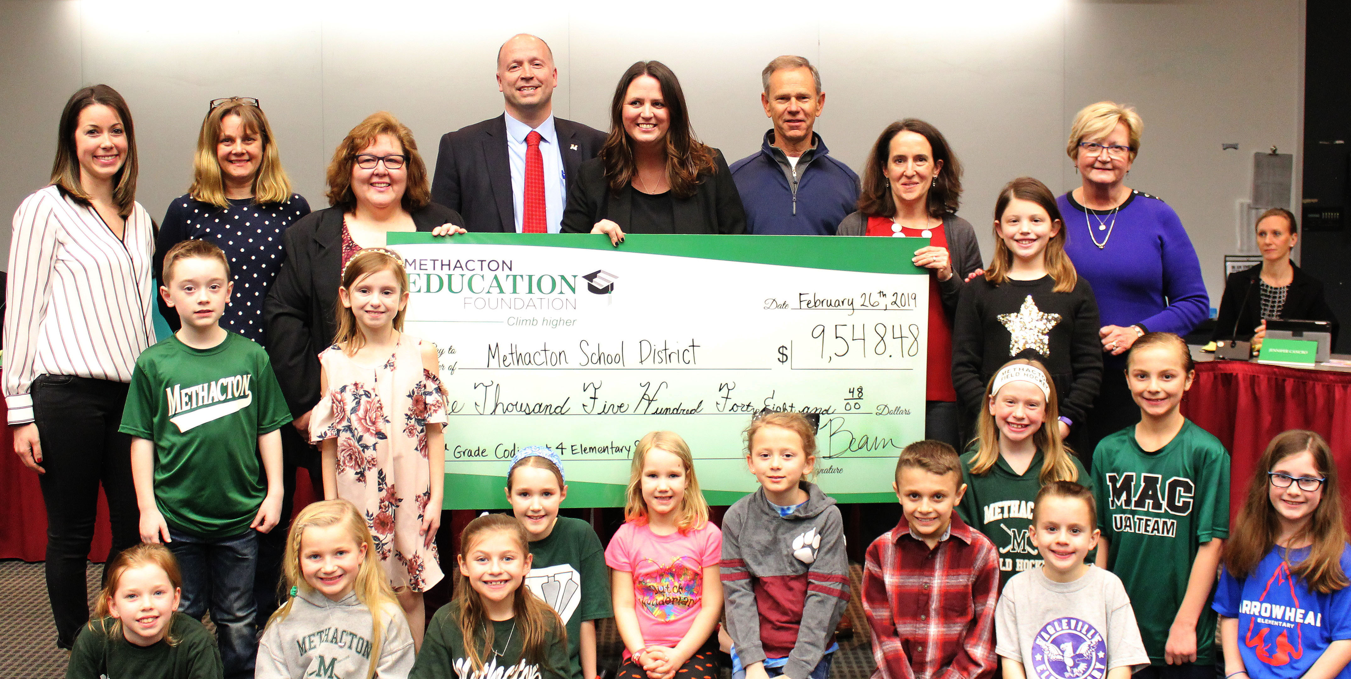 Foundation Awards $9,548 for Coding in 3rd Grade