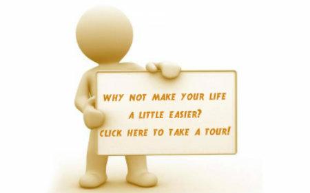 customer portal tour