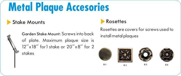 Address Plaque Accessories