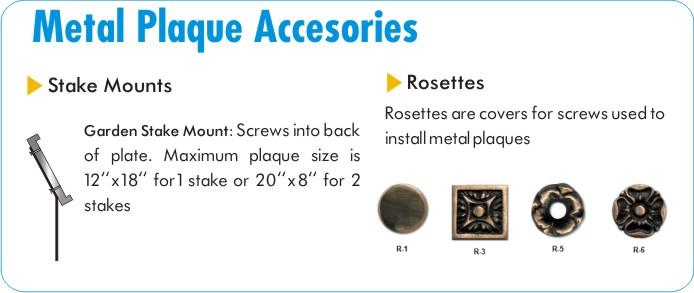 Address Plaque Accessories