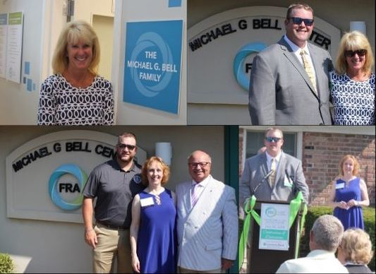 Michael G Bell Center for FRA Building Dedication