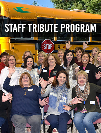 Staff Tribute Program