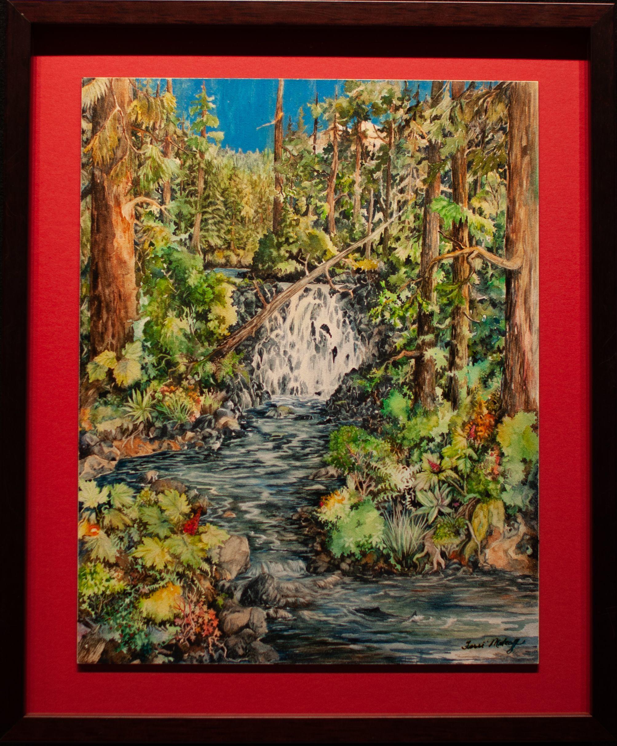 """The Last Lonely Salmon"" - Terri Metcalf"