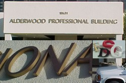 Dimensional Lettering and Building Signage