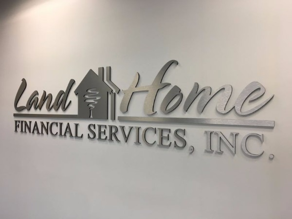 Lobby signs for mortgage companies in Orange County CA