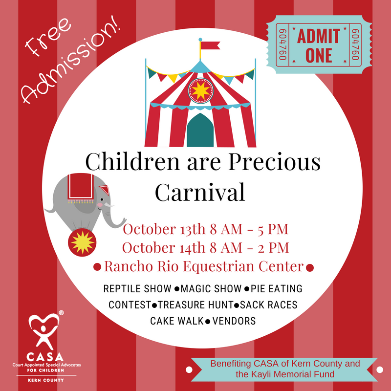 """Children Are Precious"" Vendor Fair"