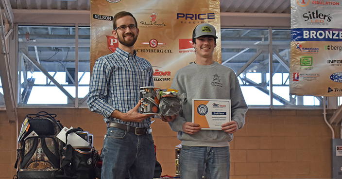 Welding (Advanced) - 2nd Place