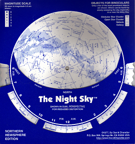 Night Sky Star Finder