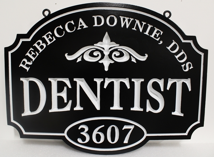 M1700 - Entrance and Address Sign  for a Dental Office  (Gallery 11A)