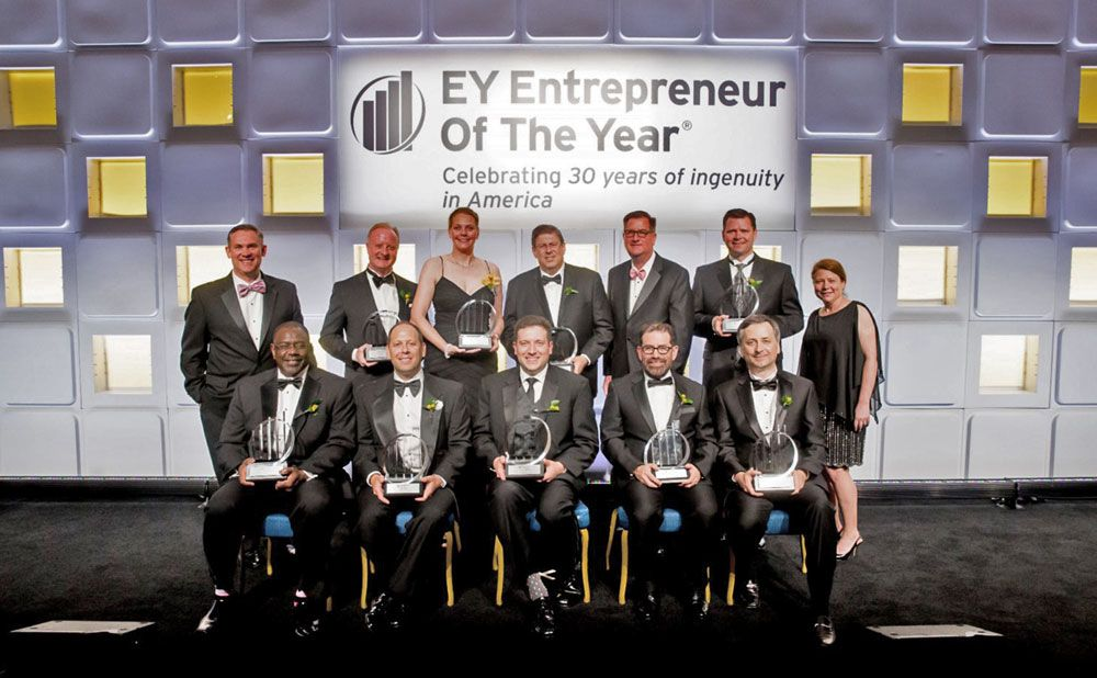 2016 Baltimore EY Winners
