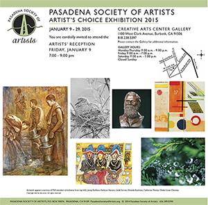 2015 - Artists' Choice at Burbank Creative Arts