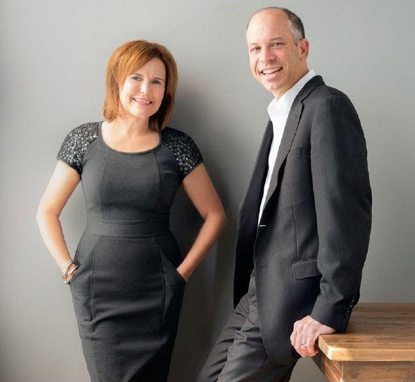 Martin and Melissa Thoma pose together